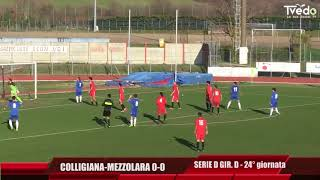 Serie D Girone D Colligiana-Mezzolara 0-0