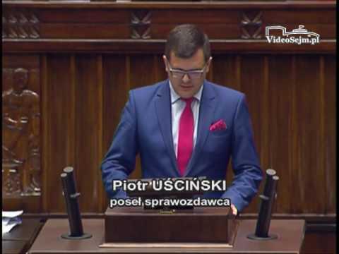 Piotr Uściński – wystąpienie z 8 czerwca 2017 r.
