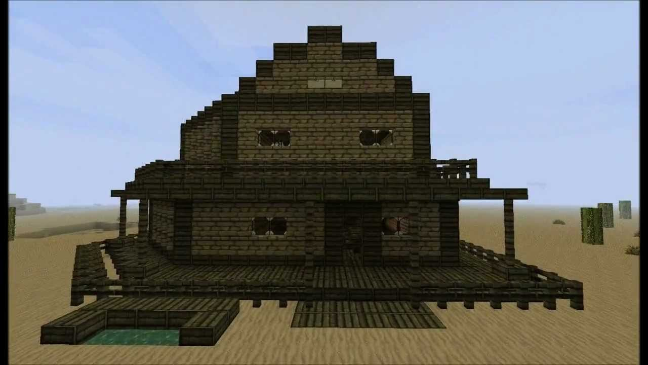 minecraft western jail and saloon youtube