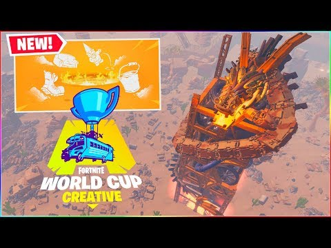 WORLD CUP MINIGAME! | Dansk Fortnite