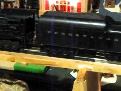Lionel Post War Steam Turbine and 12 wheel coal tender Action