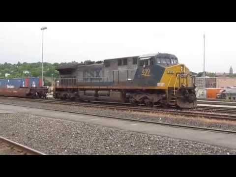 CSX #439 Idling at Worcester