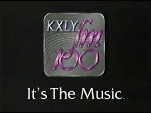 KXLY FM 100 Ad from 1993
