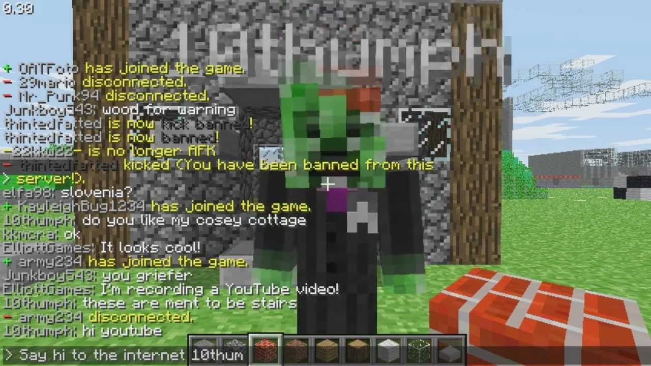 Let s Play Minecraft Classic Multiplayer Ep 1 YouTube