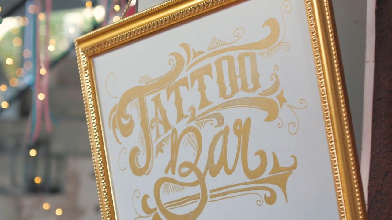 Ja Hochzeitsshop Tattoo Bar Youtube
