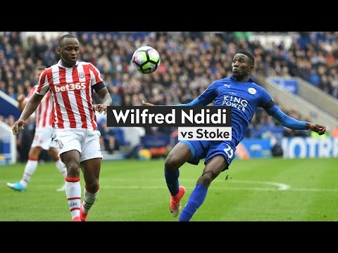 Wilfred Ndidi vs Stoke (01/04/17)