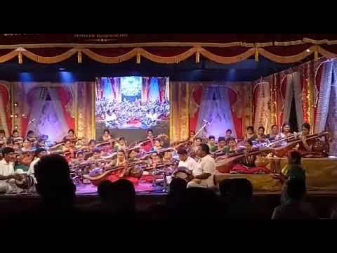 50 veena artists pay tribute to goddess saraswathi at kavasamtv's Navarathri Utsavam