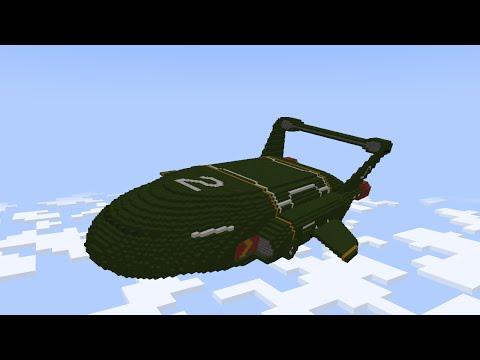 Thunderbirds Are Go Minecraft Edition: Thunderbird 2 Launch