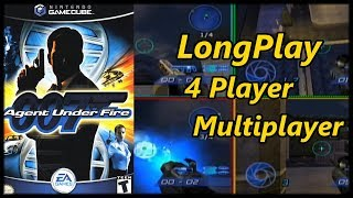 James Bond 007: Agent Under Fire - Longplay 4 Player Multiplayer (All Maps) (No Commentary)