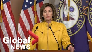 Nancy Pelosi calls Trump's comments on foreign assistance appalling