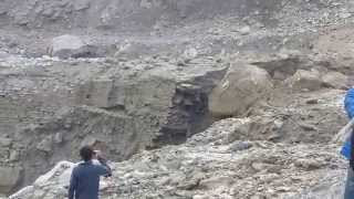 Massive Himalaya Rock Fall. must watch