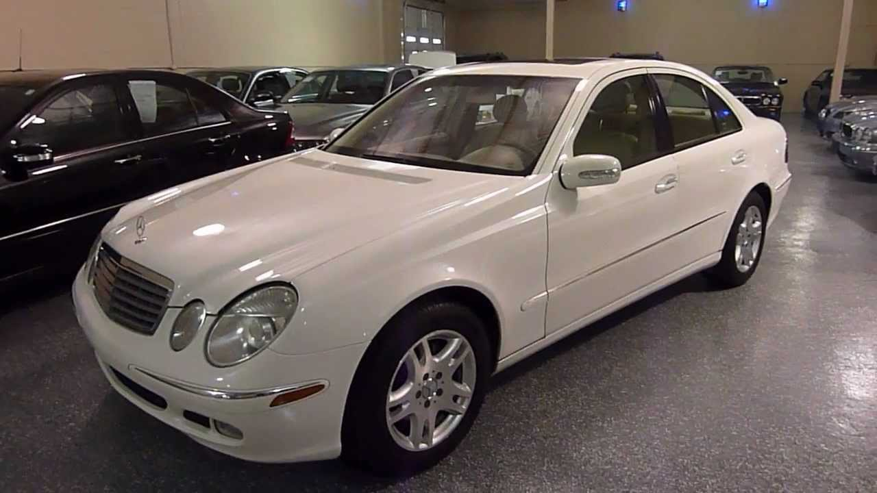 2003 mercedes benz e320 4dr sedan 3 2l sold 2191 youtube. Black Bedroom Furniture Sets. Home Design Ideas