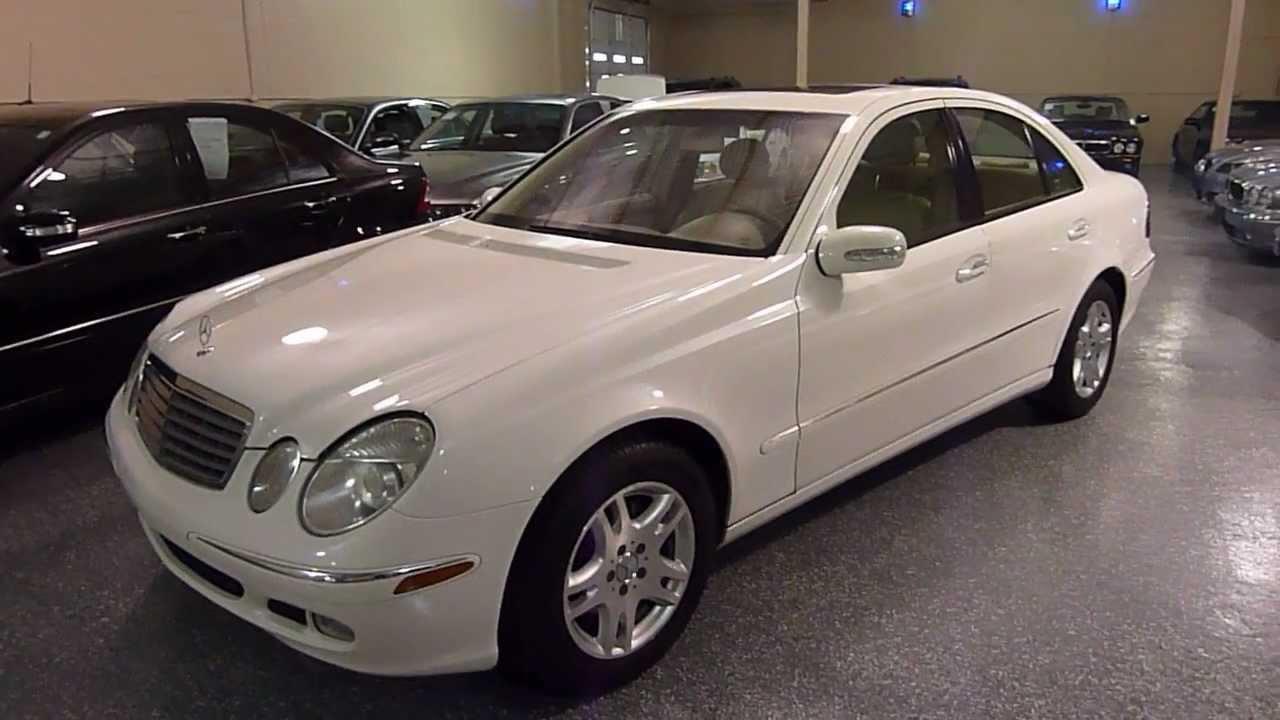 2003 MercedesBenz E320 4dr Sedan 32L SOLD (#2191)  YouTube