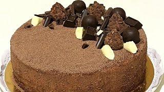 Торт ТРЮФЕЛЬ из коллекции советских рецептов Truffle Cake