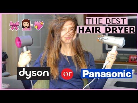Dyson Supersonic Vs. Panasonic Ionity (Best Hair/Blow Dryer Comparison) | AskAshley