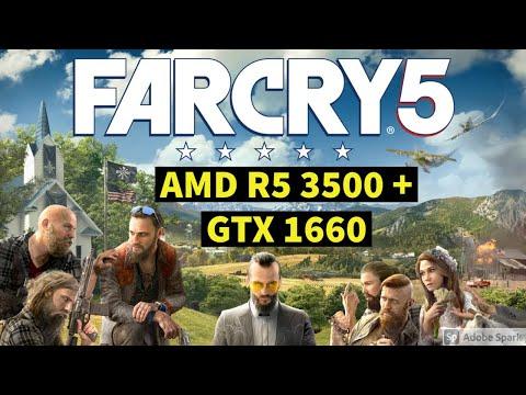 FAR CRY 5 Game Test High Setting 1080P | AMD R5 3500 + GTX 1660 | FPS Test |Hindi | Bhopal | Sep 20| |