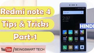 Xiaomi Redmi Note 4 Tips and Tricks Miui 8 tricks Hidden Features 2017 hindi