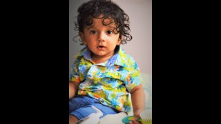 First Birthday || Video Compilation || Cute Baby || Pahadi Babies || Ridhaan Uniyal || Indian Kid
