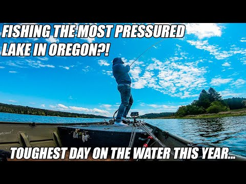 Fishing The Most Pressured Public Lake In Oregon!