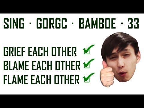 SING GORGC BAMBOE COON THINGS (SingSing Dota 2 Highlights #1071)