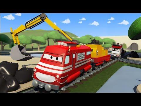Полицейский поезд мультфильм