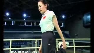 羽毛球教学 专家把脉【29】防止运动带来的伤害 反手击球