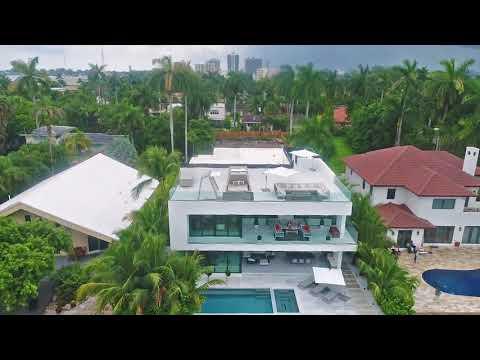 Drone Video of 7800 Miami view drive, North Bay Village, FL, 33141