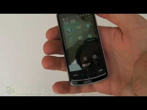 Acer beTouch E200 unboxing video