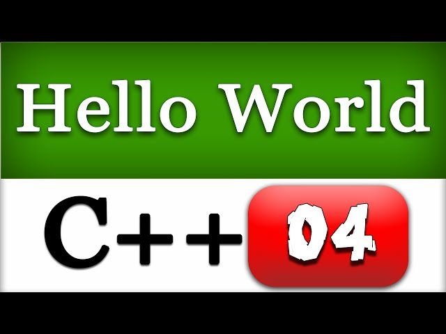 04   First C   Hello World Program    CPP Programming Video Tutorials - YouTube