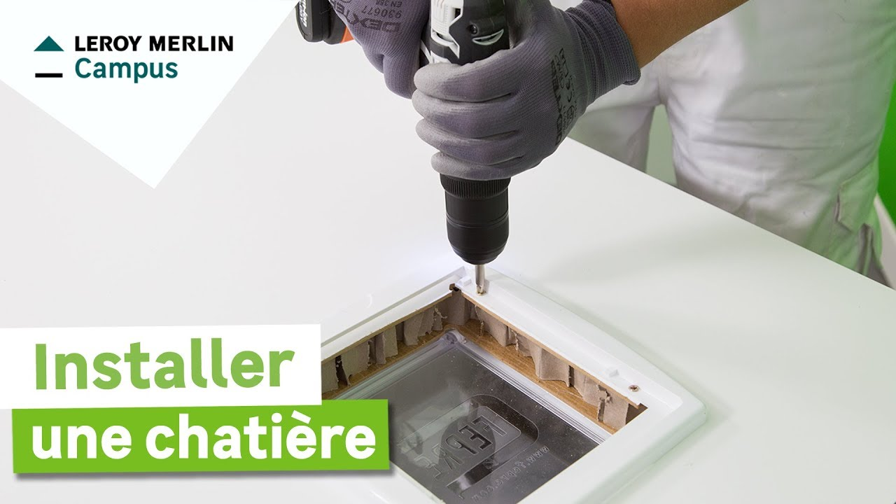 Comment Installer Une Chatière Leroy Merlin