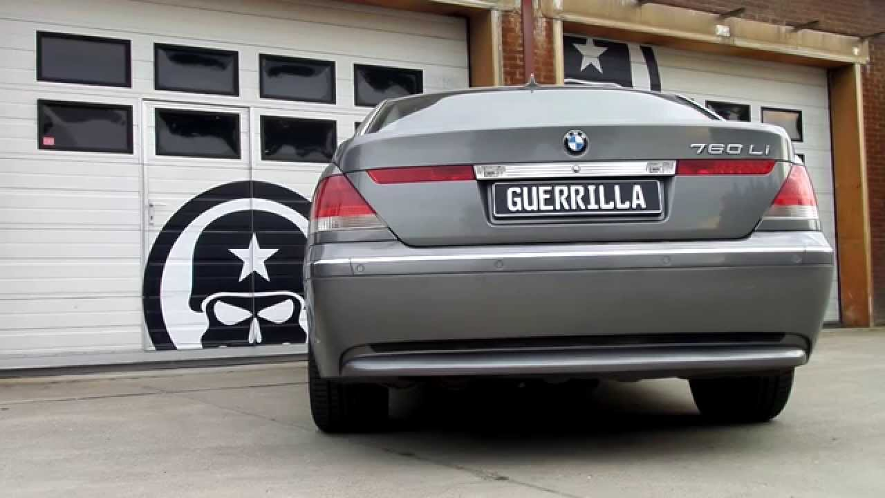 Guerrilla BypassR Exhaust On A BMW 760Li V12