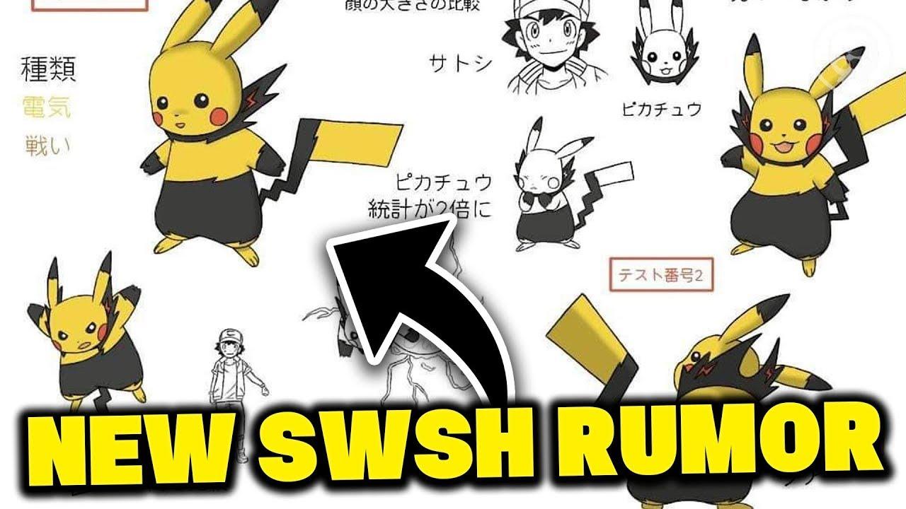 New Rumor For Pokemon Sword And Pokemon Shield Ash Pikachu Form