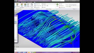 Autodesk CFD simulation, analisis lateral luv dmax