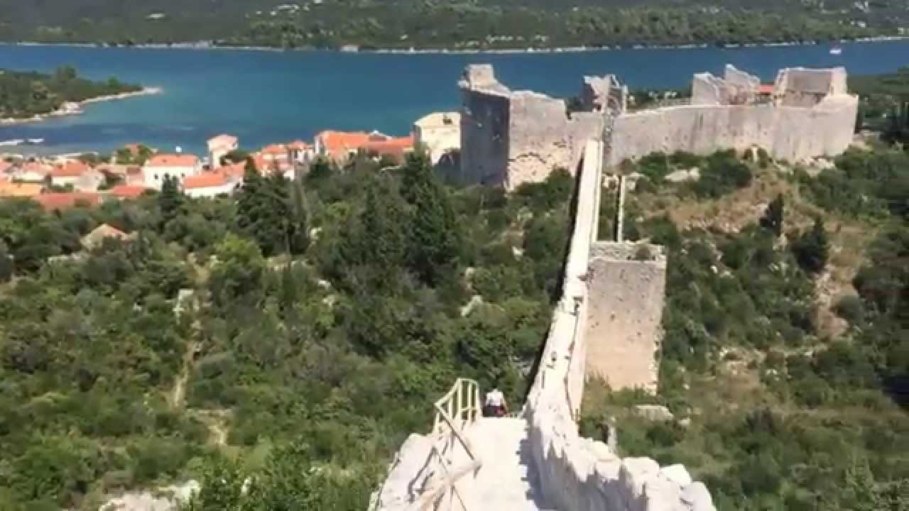 Amazing view from ston croatia city walls youtube amazing view from ston croatia city walls voltagebd Gallery