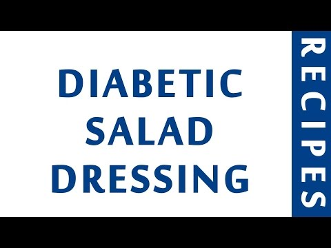 DIABETIC SALAD DRESSING | QUICK RECIPES | EASY TO LEARN