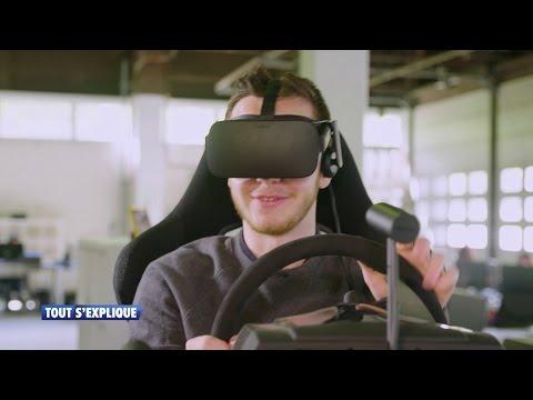 Le défi de Nathan: tester la réalité virtuelle - RTL TVI