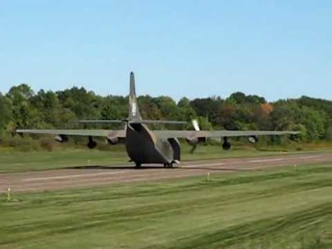 "Fairchild C-123 Provider ""Thunder Pig"" takeoff."