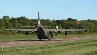 "This Fairchild C-123 named ""Thunder Pig"", owned by the Air Heritage..."