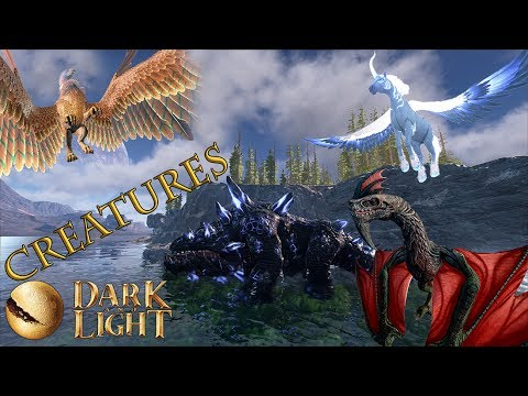 Dark and Light | ALL THE CREATURES!!!