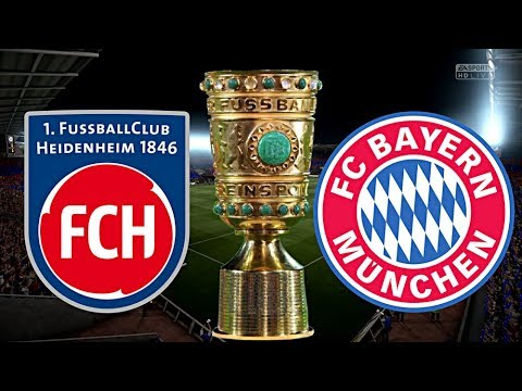 FC BAYERN MÜNCHEN vs. 1.FC HEIDENHEIM | DFB POKAL ◄FCB 114►