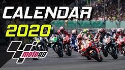 MotoGP 2020 Calendar / Calendario y horarios Moto GP 2020