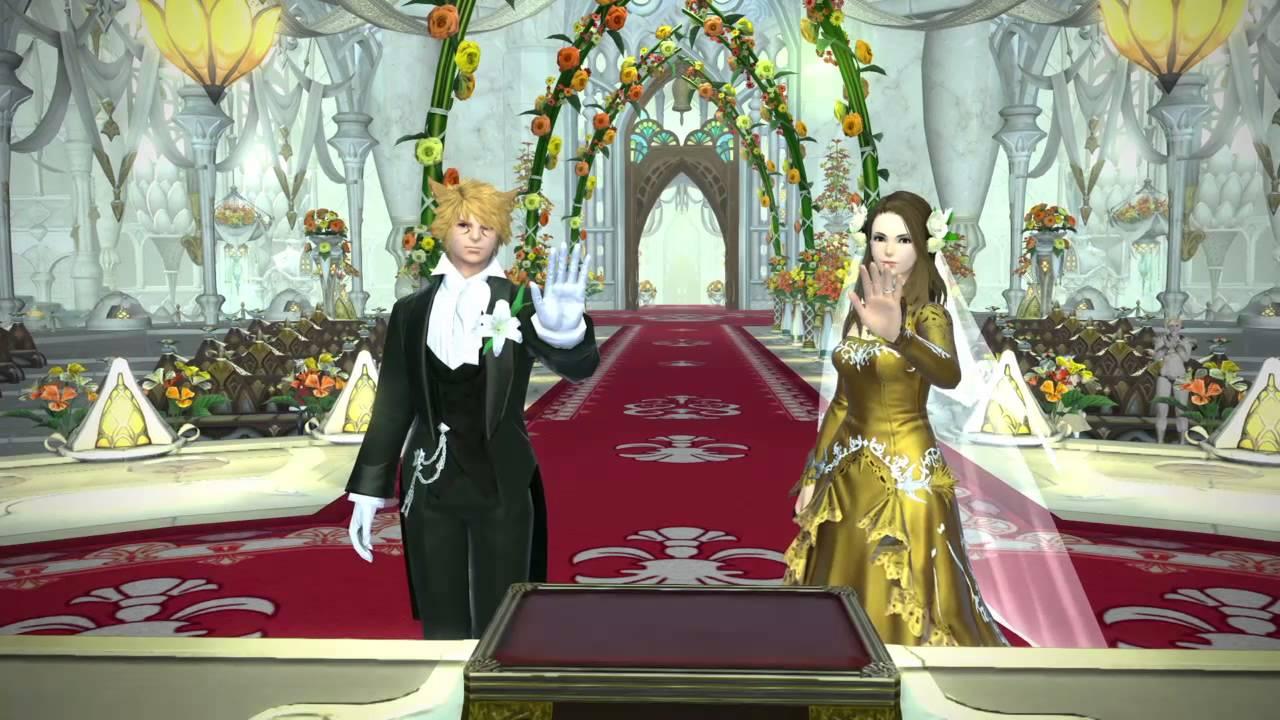 FFXIV My Ceremony Of Eternal Bonding Platinum Devotion
