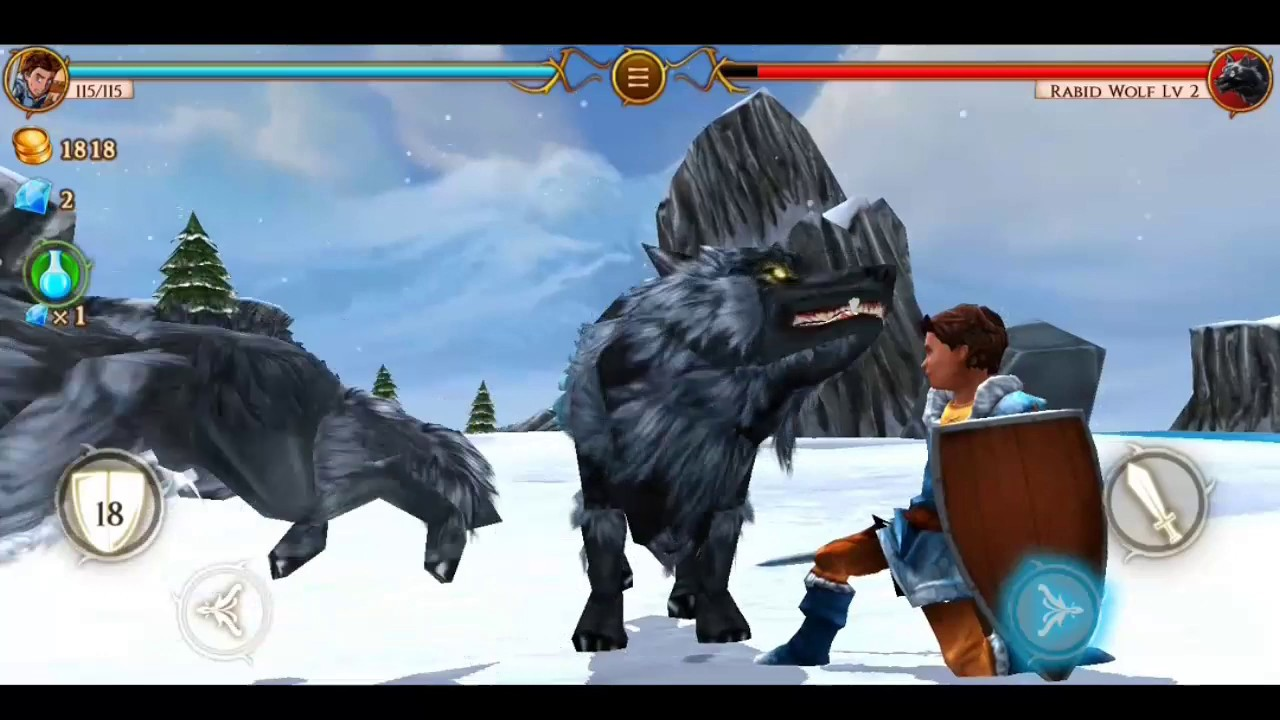 Beast Quest Fourth try to complete the mission(ព្យាយាមបំពេញ្បេសកកម្ម)