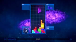 Tetris® Ultimate (XBOX One) DJAK47 Tha Hustler Clears 40 Lines in Less Than 10 Min!