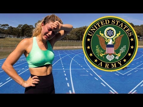 I took the US Army Fitness Test