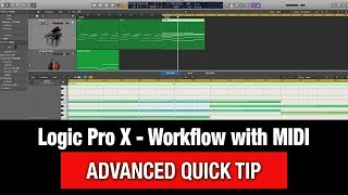 Logic Pro X Quick Tutorial - MIDI in the Sequencer (MIDI Chase)