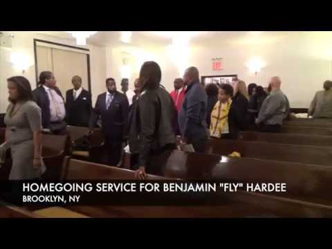 "HOMECOMING SERVICE FOR BENJAMIN ""FLY"" HARDEE"