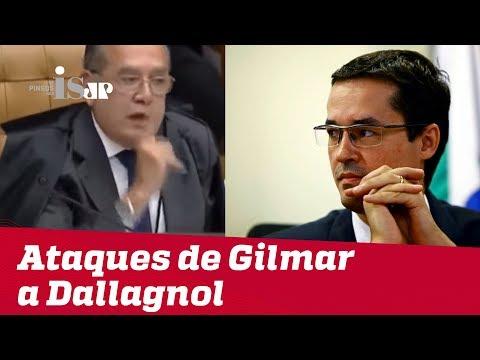 O ataque de Gilmar Mendes a Deltan Dallagnol