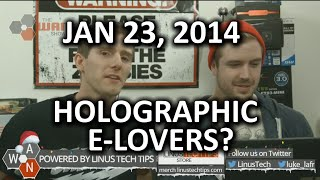 The WAN Show - Virtual Girlfriend + Windows 10 Holograms = End of Society? - Jan 23, 2015