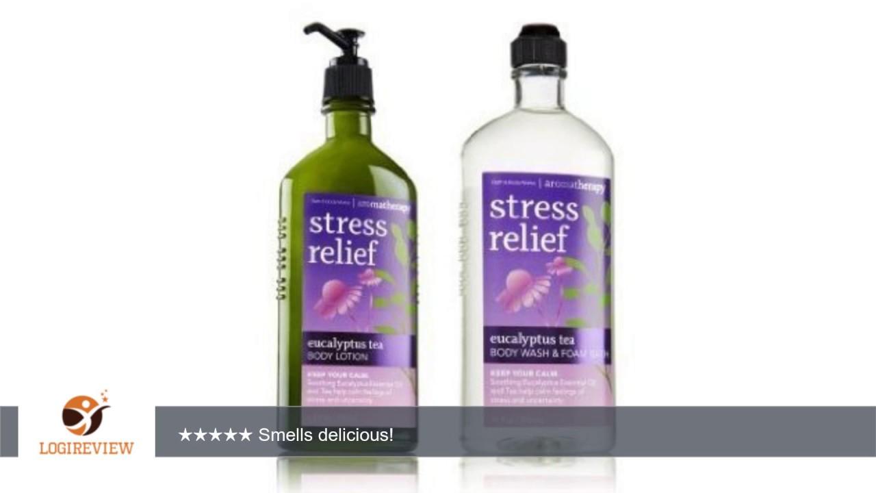 Bath Body Works Aromatherapy Stress Relief Eucalyptus Tea 1 Body